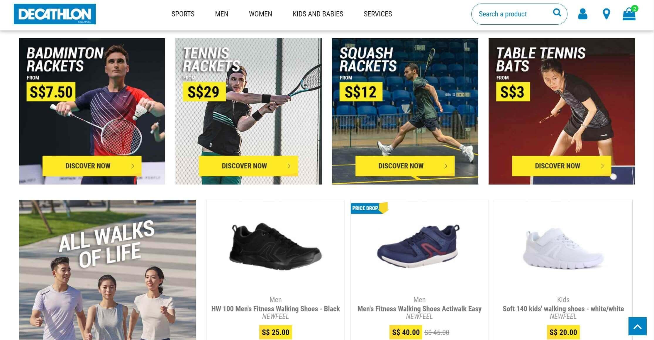 Decathlon Singapore Online Store