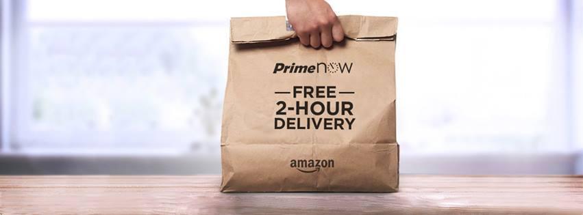 Amazon Prime Now  voucher