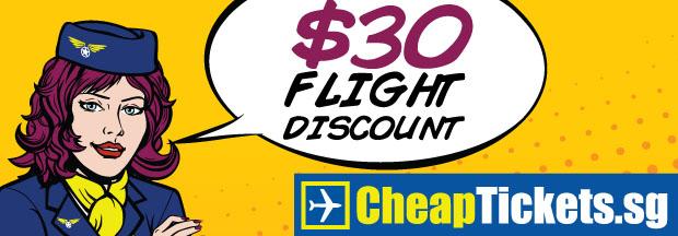 CheapTickets.sg voucher